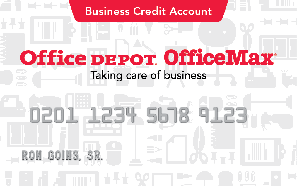 Office depot business credit account application form you deserve all the creditd all the rewards too reheart Choice Image