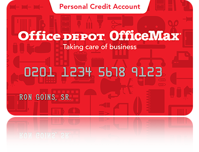 Office depot credit card sign on welcome to a new way of managing your account reheart Choice Image