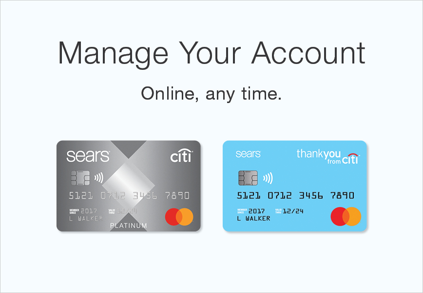 Sears Card®: Log In or Apply