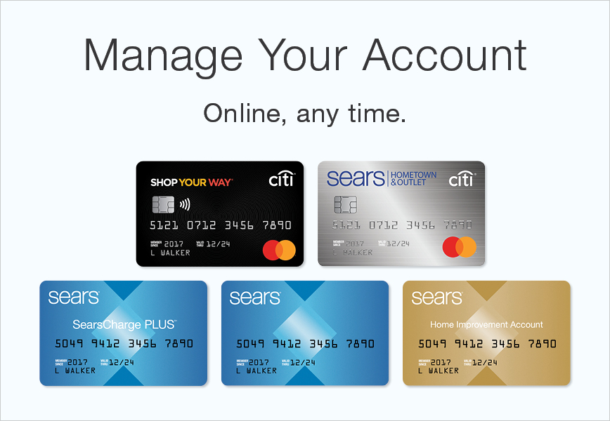 Shop Your Way Mastercard Log In Or Apply