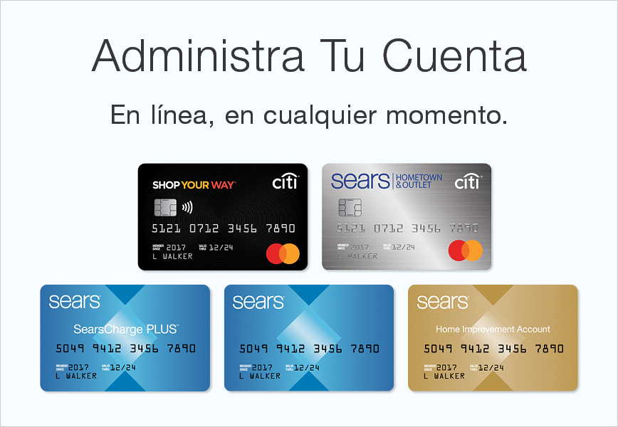Shop Your Way Mastercard®: Inicio de Sesión
